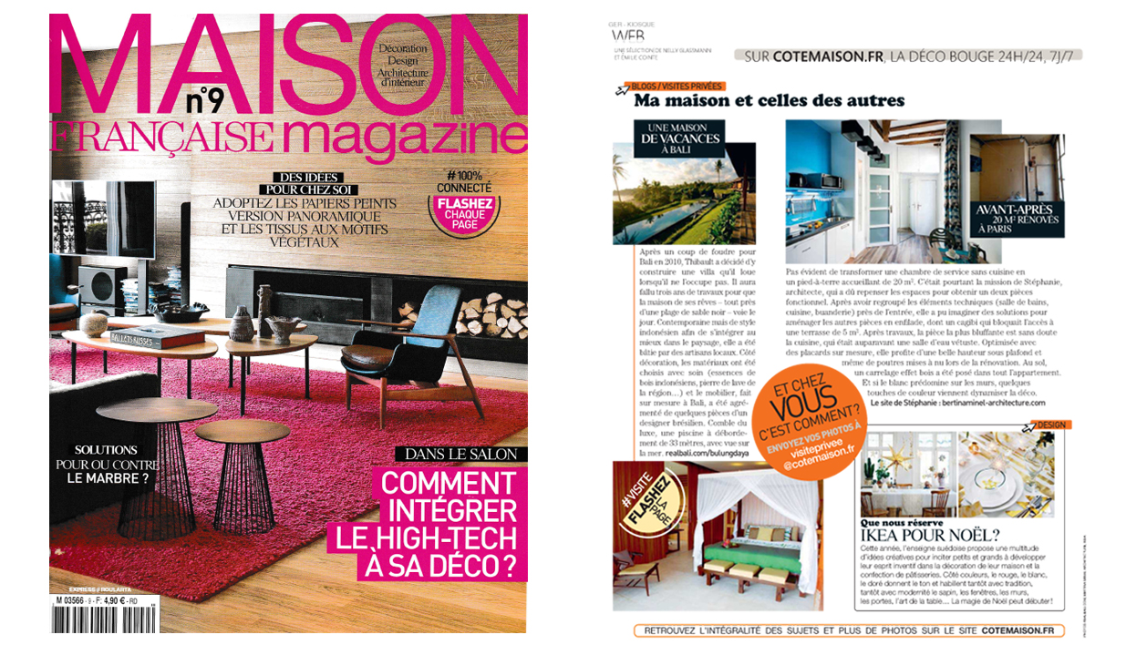 Article maison fran aise magazine for Maison francaise magazine abonnement