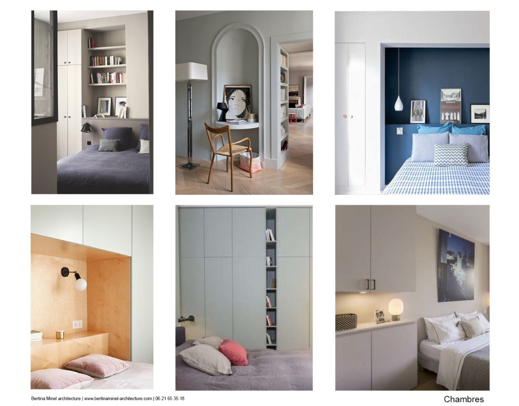exemple planche ambiance chambre